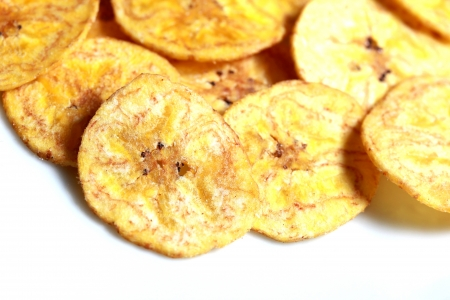 banana chips photo