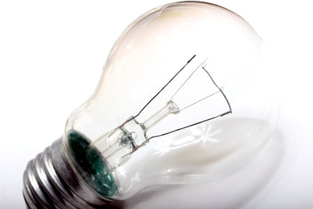 plain light bulb