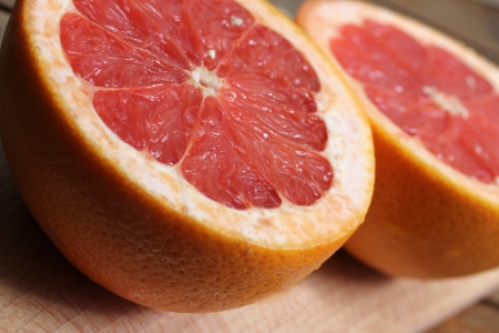 fresh grapefruit Stockfoto