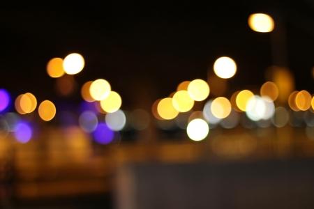 city bokeh background