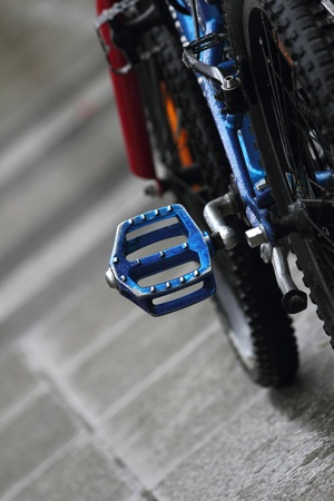 mountainbiking: mountainbike pedal