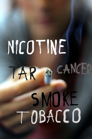 killing cancer: cigarette concept Stock Photo