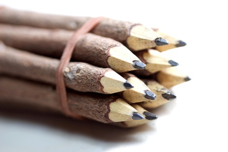 wooden lead pencil photo