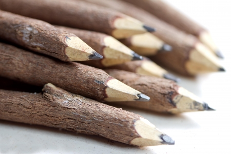 wooden lead pencil photo
