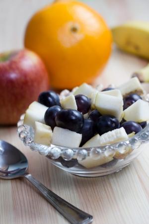 breakfeast: fruit salad bowl