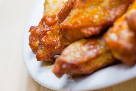 chicken fingers: chicken wings