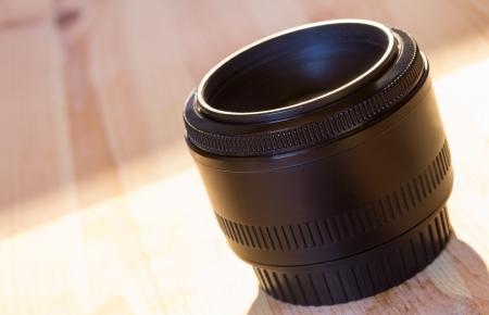 clavados: Fotograf�a de longitud focal fija objetivamente Foto de archivo