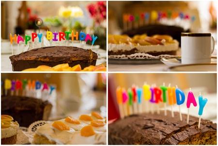 birthday table mix photo