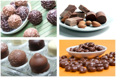 chocolate sweets picture background photo