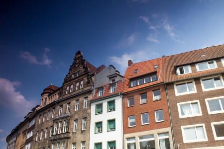 rhine westphalia: Muenster Germany City buildings
