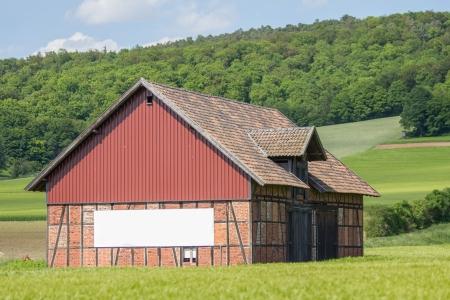 textfield: barn with plain textfield