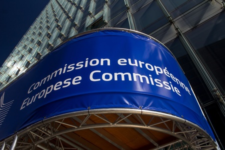 EU Commission Brussels Stock fotó - 21310295