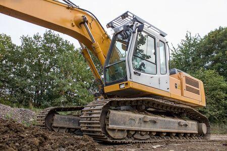 big excavator photo