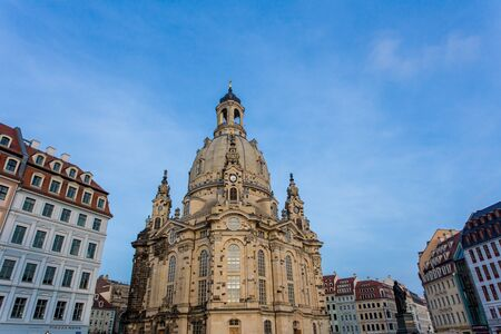 the frauenkirche: Frauenkirche en Dresde Alemania
