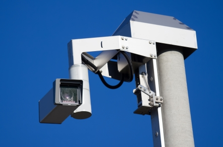 autobahn: remote-controlled  traffic surveillance camera