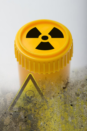atomic waste symbol photo