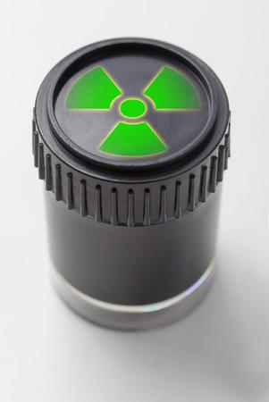 atomic waste symbol Stock Photo - 25715605