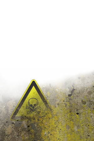 skull sign background Stock Photo - 25715612
