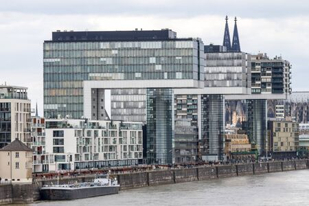 cologne rhine buildings view