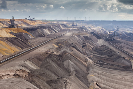 garzweiler brown coal surface mining germany