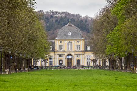 opulence: poppelsdorf castle in bonn germany Editorial