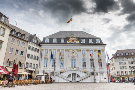 the old town hall: bonn germany town hall