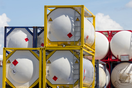 industriële scheepvaart vloeistofcontainer