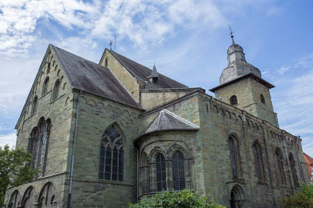 soest: st maria zur hoehe church in soest germany Stock Photo