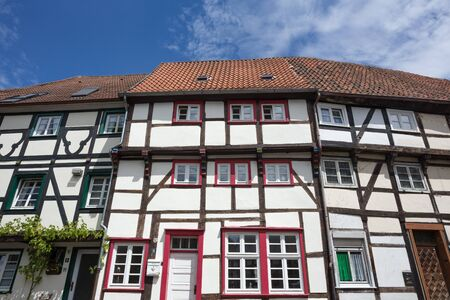 soest: old town soest in germany