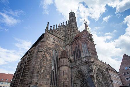 frauenkirche: Frauenkirche N�rnberg Deutschland