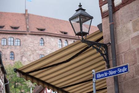 albrecht: albrecht duerer place nuernberg Stock Photo
