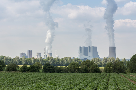 big coal power plant in germany