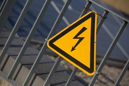 danger electricity sign photo