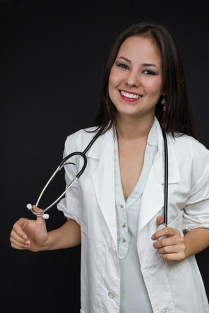 young female doctor photo