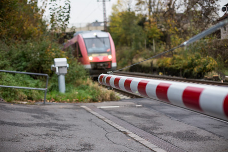 german level crossing