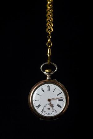 classical mechanics: old pocket watch