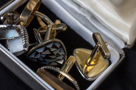 old beautiful cufflinks Reklamní fotografie