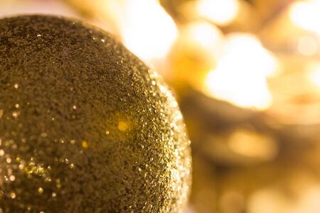 christmas decor: shiny christmas decor background