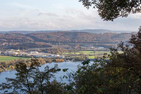 Harkort See Herbstansicht Standard-Bild - 34300444