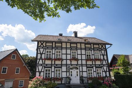historic village bruchhausen germany Editorial