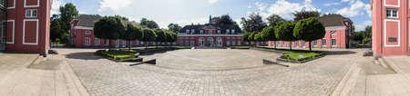 definición: castle oberhausen germany high definition panorama Editorial