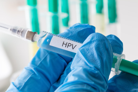 HPV-vaccinatie Stockfoto - 61964243