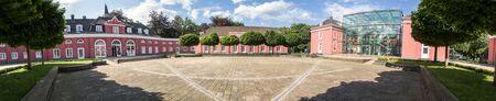definicion: castle oberhausen germany high definition panorama Editorial