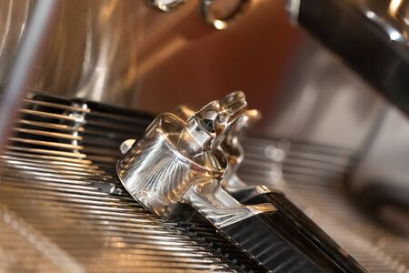 professional coffee machine Stock Photo