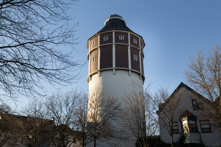 water tower: water tower remscheid germany Stock Photo