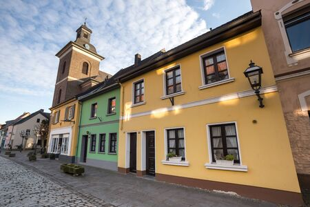 architectural tradition: historic city linn krefeld germany
