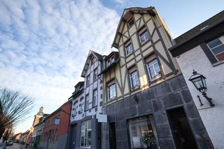 historic: historic city linn krefeld germany