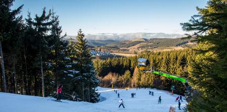 winterberg germany skiing resort winter sun