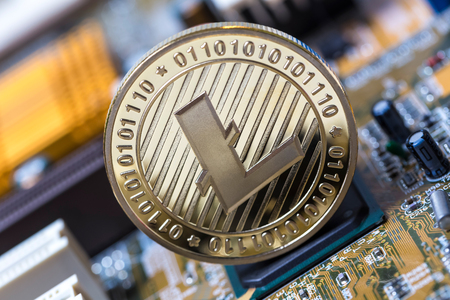 litecoin on an motherboard
