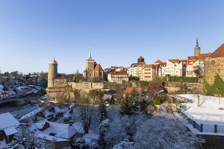 bautzen germany in the winter